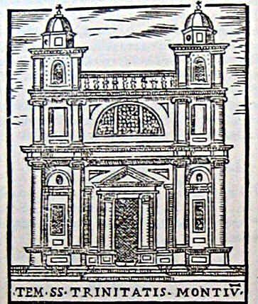 Trinità dei Monti - Girolamo Francino (1588)